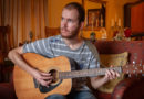 Pieter-Jans sing op Riebeek