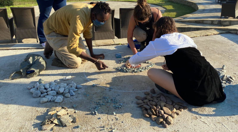 New stone art project launched