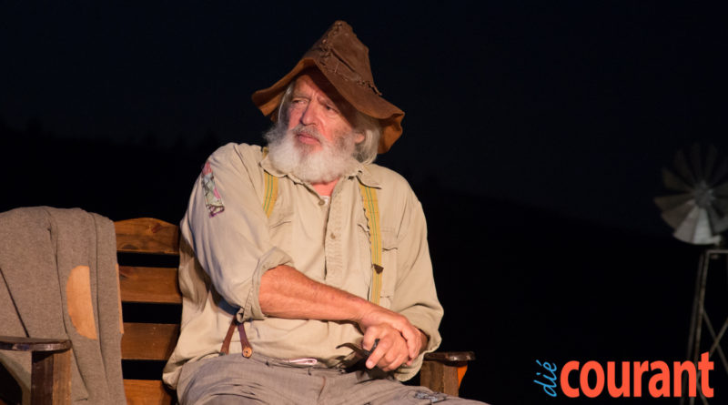 Oom Schalk Lourens kuier in die Swartland